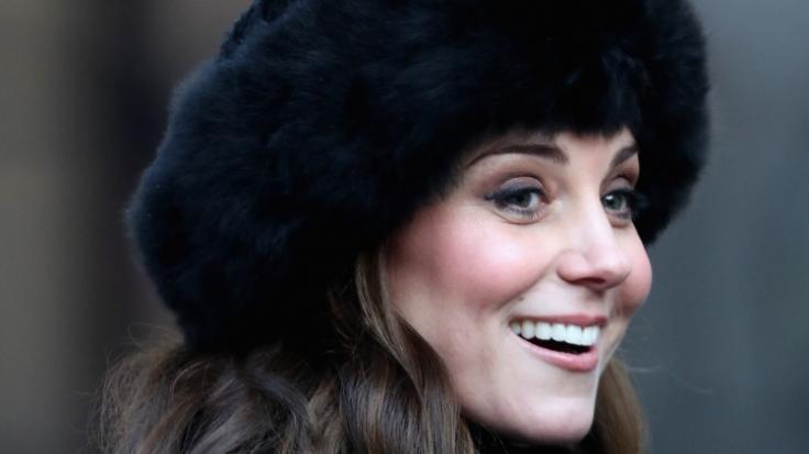 Kate Middleton hatte 2018 öfter Grund zum Lachen.
