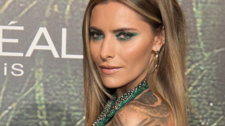 Sophia Thomalla zeigt sich schon wieder blau im Netz. (Foto)