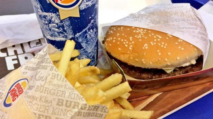 Das Highlight des geheimen Burger King-Menüs ist u.a. der