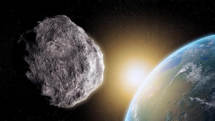 Am Freitag (14.05.2021) schrammen sechs Asteroiden an der Erde vorbei. (Foto)