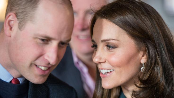 Zwischen Prinz William und Herzogin Kate soll es offenbar gehörig kriseln. (Foto)