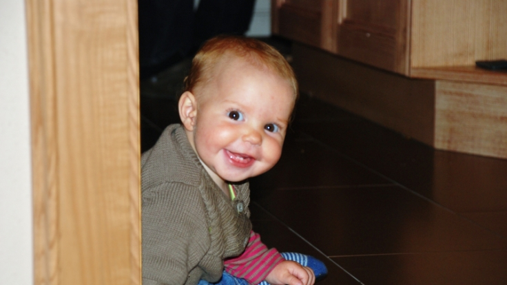 Diese Kleine hat gut lachen: Das Zahnen macht ihr nichts aus. (Foto)