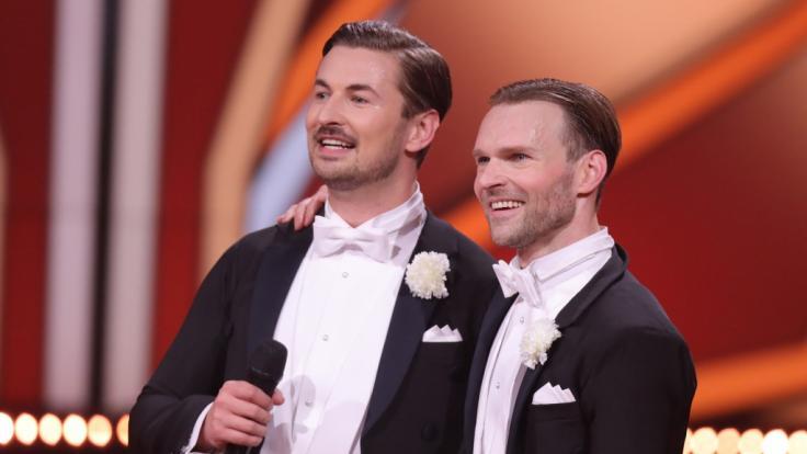 Nicolas Puschmann und Vadim Garbuzov dürfen wieder tanzen. (Foto)