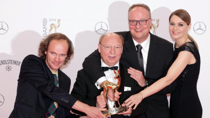 """Ein Kamerateam der ZDF-Satiresendung """"heute-show"""" ist in Berlin angegriffen worden. (Foto)"""