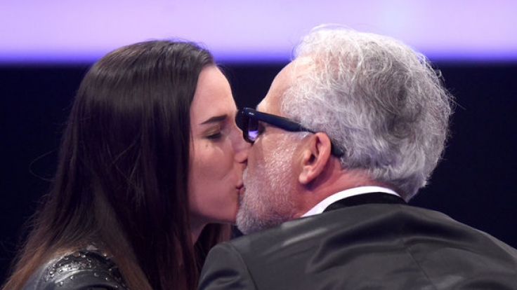 Hier noch glücklich vereint: Nino de Angelo und Ehefrau Larissa 2015. (Foto)