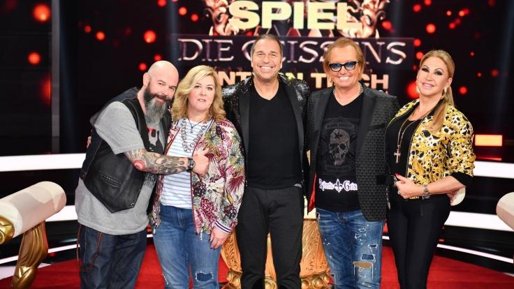 Spiel die Geissens untern Tisch bei RTL II (Foto)