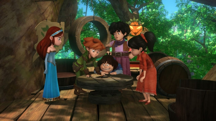 Robin Hood - Schlitzohr von Sherwood bei KiKA (Foto)