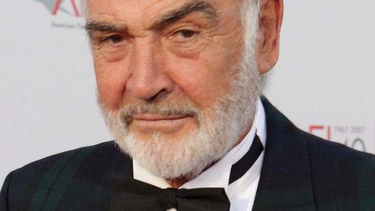 Sean Connery ist tot. (Foto)