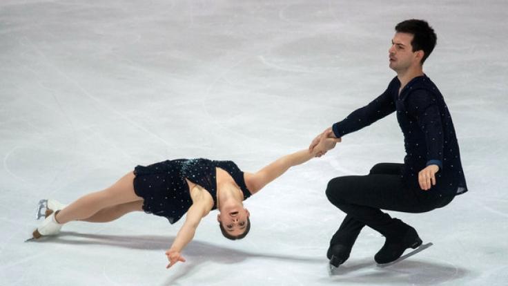 In Moskau findet an diesem Wochenende der Eiskunstlauf Grand Prix 2017 statt (Archivbild).