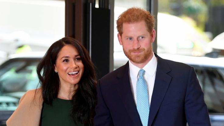 Meghan Markle und die Prinzen Harry und Archie wollen nach dem Afrika-Trip 6 Wochen Urlaub machen. (Foto)