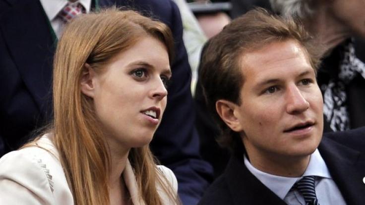 Ein Bild aus glücklicheren Tagen: Prinzessin Beatrice und ihr Ex-Freund David Clark bei einer Sportveranstaltung vor ihrer Trennung im August 2016.