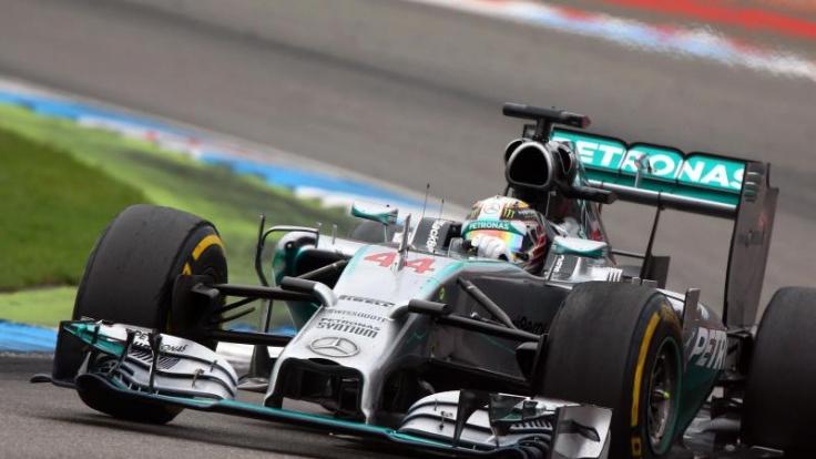 Lews Hamilton hat auf dem Hungaroring schon vier Mal gewonnen. So sehen den Ungarn-GP der Formel 1 2014 live im TV bei RTL und im kostenlosen Live-Stream von RTL Inside.
