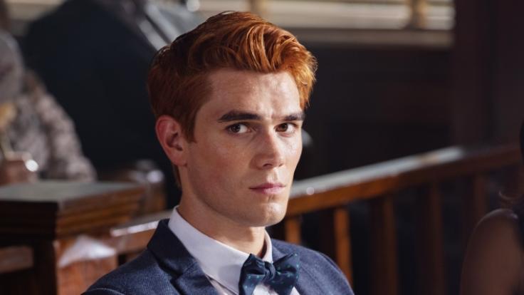 KJ Apa in seiner Rolle als Archie Andrews in Riverdale. (Foto)
