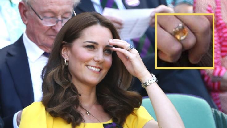 Kate trägt einen Ring mit heilenden Kräften