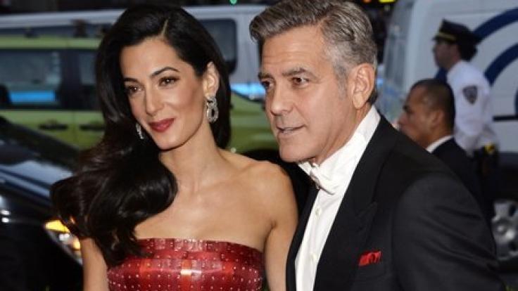 Es wäre eine kleine Sensation: Amal Clooney soll schwanger sein. (Foto)