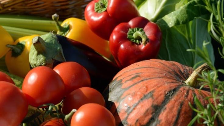 Fünfmal am Tag sollte Obst und Gemüse auf Ihrem Speiseplan stehen.