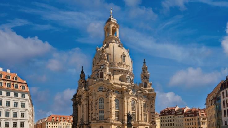 Die Frauenkirche in Dresden soll im Visier von IS-Terroristen stehen.