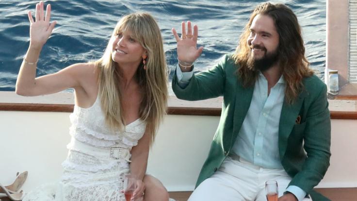 Heidi Klum ist seit der Hochzeit mit Musiker Tom Kaulitz mit ihm und der Familie in den Flitterwochen auf Capri