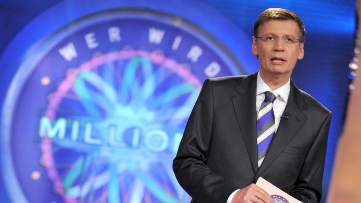 """Günther Jauch moderiert die RTL-Quizshow """"Wer wird Millionär?"""" seit 1999. (Foto)"""