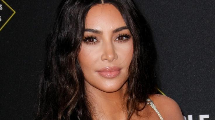 Kim Kardashian verwirrt mit Schlangen-Optik im Netz. (Foto)