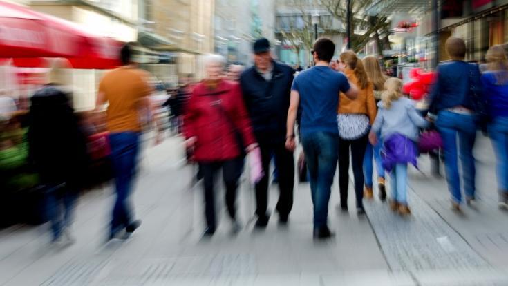 Digitale Lösungen könnten dabei helfen, den Kundenstrom in Innenstädten zu regulieren. (Foto)