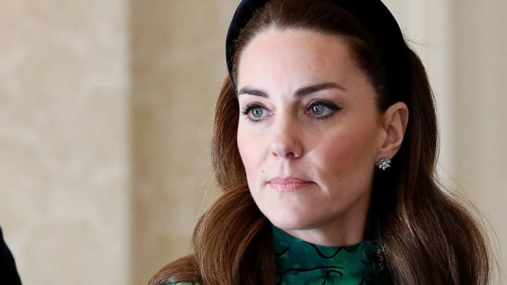 """Kate Middleton glaubte ihren Augen kaum, als sie die """"Leiche"""" am Boden liegend sah. (Foto)"""