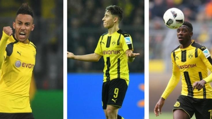 Aubameyang, Emre Mor und Ousmane Dembélé: Wie geht es mit den BVB-Stars weiter? (Foto)