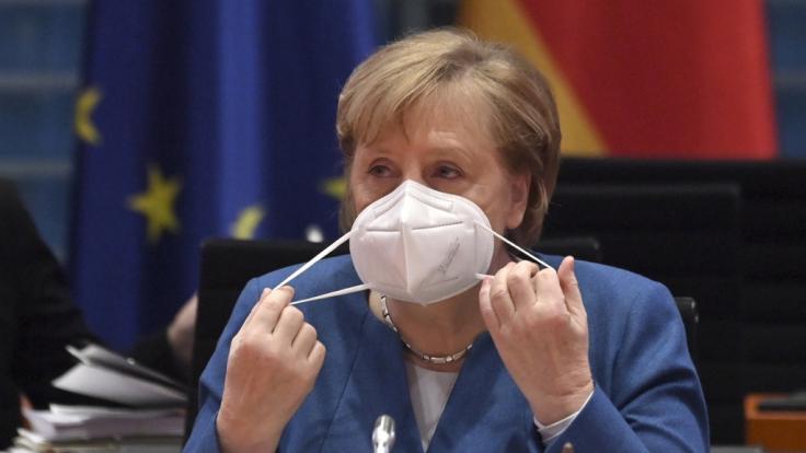 Die Nachrichten des Tages bei news.de: Bundeskanzlerin Angela Merkel stößt beim Thema Ausgangssperren auf Gegenwind. (Foto)