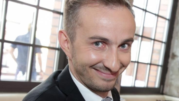 Der Quatschkopf kann auch ernst und sentimental: Moderator und Satiriker Jan Böhmermann. (Foto)