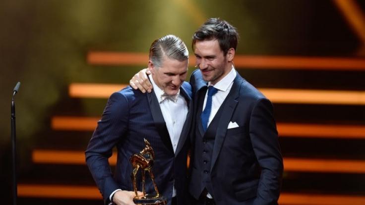 Bastian Schweinsteiger erhielt 2016 den Bambi in der Kategorie