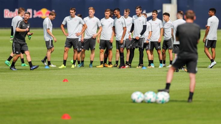 Für RB Leipzig stehen an diesem Wochenende gleich zwei Testspiele an. (Foto)