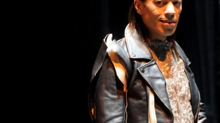 Jorge González: Immer in Szene gesetzt.