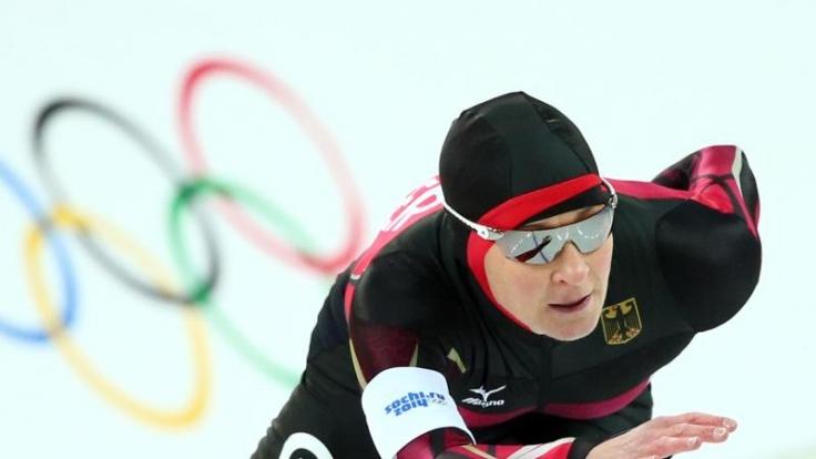 Kann Claudia Pechstein ihre Probleme mit dem weichen Eis in Sotschi in den griff bekommen?