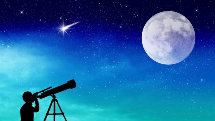 Sternschnuppen an Weihnachten: Die Ursiden lassen das astronomische Jahr ausklingen. (Foto)