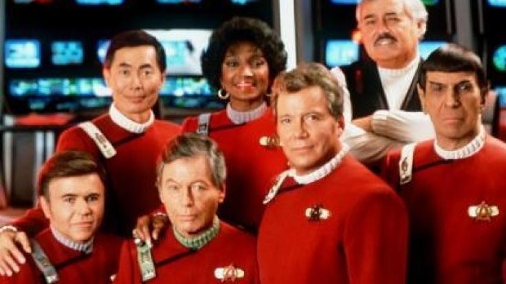 Die Crew der Enterprise. (Foto)