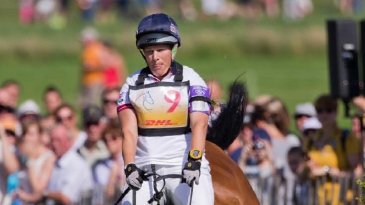 Die britische Reiterin Zara Phillips in Aktion. (Foto)