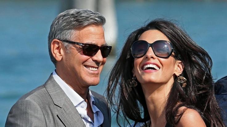 Wie steht es um die Ehe von George Clooney und seiner Frau Amal?