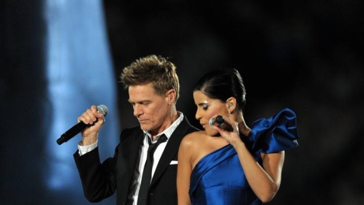 Bryan Adams und Nelly Furtado sangen bei der Eröffnungsfeier der Olympischen Spiele - nur zwei von vielen kanadischen Top-Musikern. (Foto)