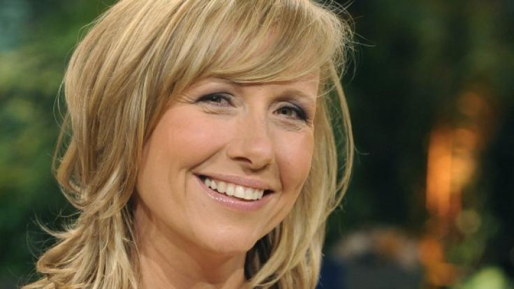 """Andrea Kiewel wurde mit dem """"ZDF Fernsehgarten"""" am 1. August 2021 zu einer Zwangspause verdonnert. (Foto)"""