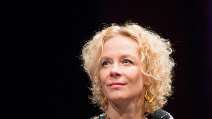 Die Schauspielerin Katja Riemann beim Literaturfestivals Lit.Cologne in Köln. (Foto)
