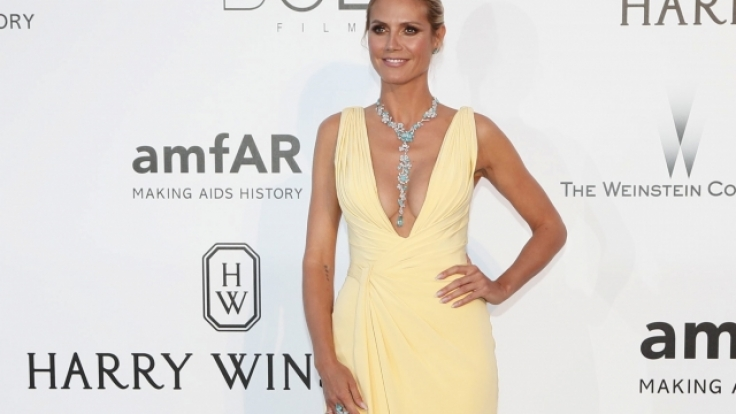 Heidi Klum bei der Cinema Against AIDS amfAR-Gala 2016 am 19. Mai in Hotel du Cap, Eden Roc in Antibes, Frankreich. (Foto)