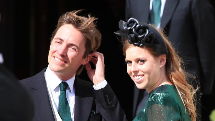 Prinzessin Beatrice und ihr Mann Edoardo erwarten im Herbst ihr erstes Kind. (Foto)