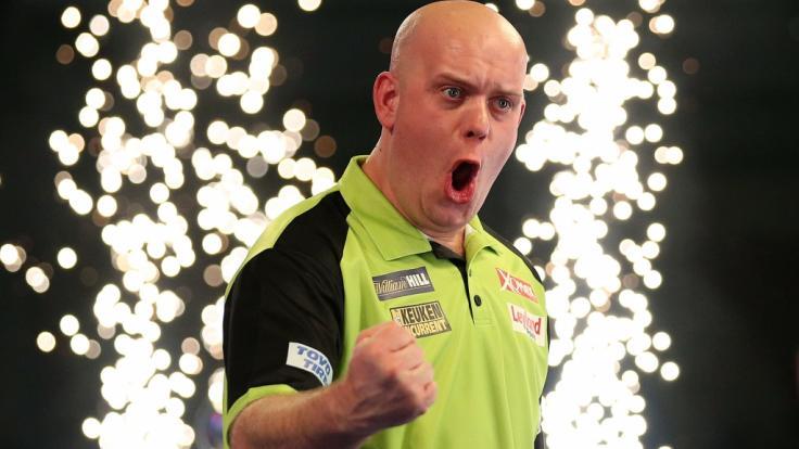 Bevor Michael van Gerwen zur Nummer 1 der Dartswelt wurde, hatte der Niederländer einen echt bodenständigen Job.
