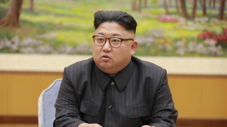 Kim Jong-uns Regime fährt eine harte Linie und testet unermüdlich nukleare Waffen. (Foto)