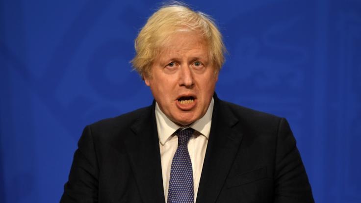 In England fallen die Corona-Regeln am 19. Juli 2021 - Premierminister Boris Johnson setzt dann auf die Eigenverantwortung des Volkes anstelle von Maskenpflicht, Abstandsgebot und Co. (Foto)
