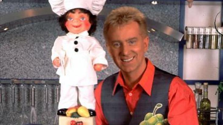 TV-Koch Armin Roßmeier - hier in einer Aufnahme von 1998 - war auch schon beim