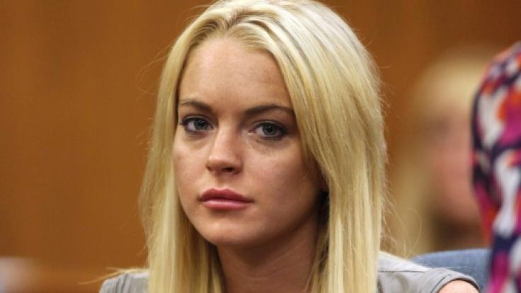 Sängerin Lindsay Lohan trauert um ihren Ex-Freunde Harry Morton. (Foto)