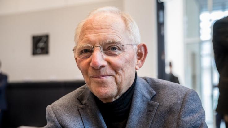 cdu politiker wolfgang schuble ist der neue bundestagsprsident foto - Wolfgang Schauble Lebenslauf