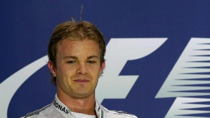 Mercedes-Pilot Nico Rosberg führt derzeit die WM-Tabelle der Formel 1 an.