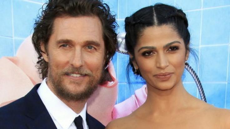 Matthew McConaughey und seine Frau Camila Alves.